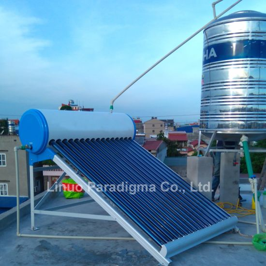 Economy Vacuum Tube Solar Water Heater pictures & photos