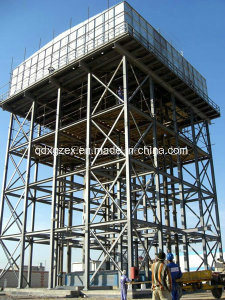 Elevated Water Tank and Steel Structure Support Frame, Water Tower (SS-2020)