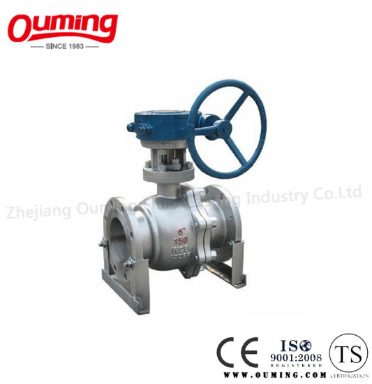 2PC/3PC Trunnion Mounted Ball Valve pictures & photos