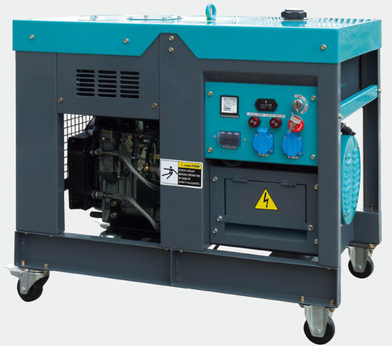 10kw Special Design Diesel Generator Open Frame Air-Cooled pictures & photos
