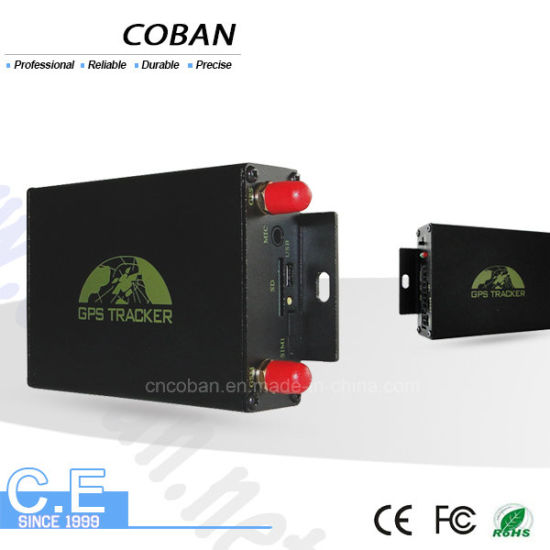 GPS105 Acc Detection GPS Tracker Dual SIM Cards Tracking by Cell Phone Tk105
