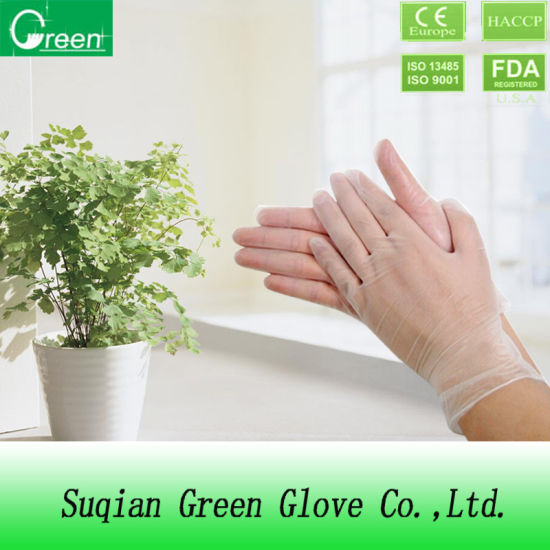 Gloves for Beauty Salondisposable Medical PVC Gloves pictures & photos