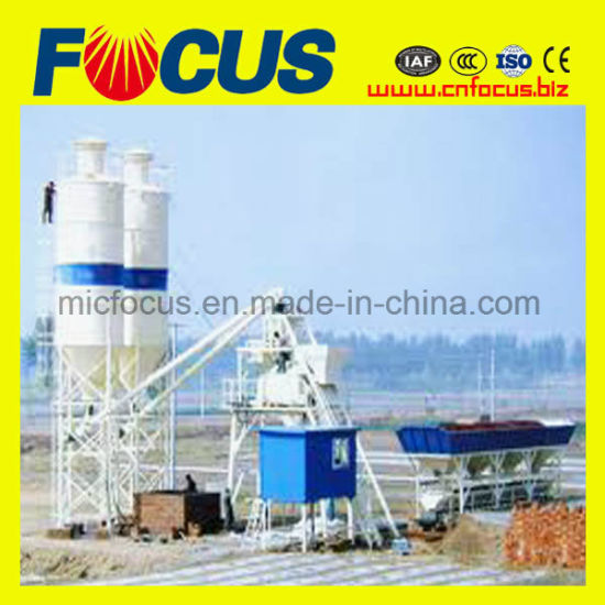Hot Sale Mini Mobile Cement Batching Plant pictures & photos