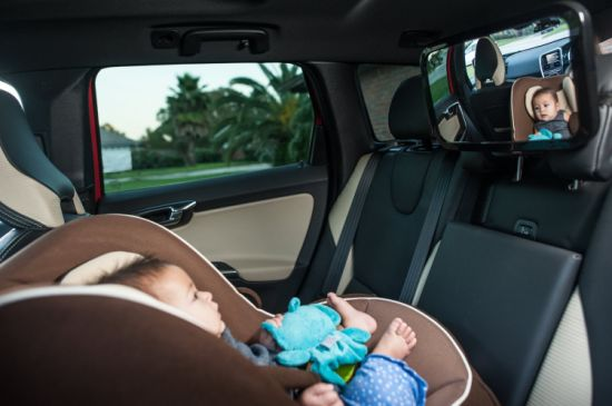 Back Seat Rear-Facing Infant in Sight Baby Safety Car Monitor Mirror