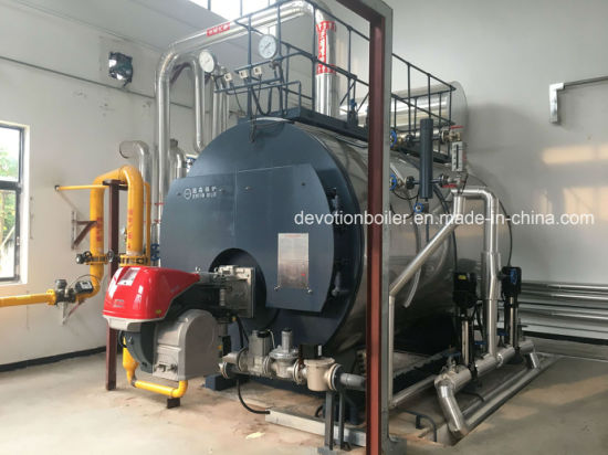 China Fuel Natural Gas, LPG Industrial Steam Boiler with EU Burner ...