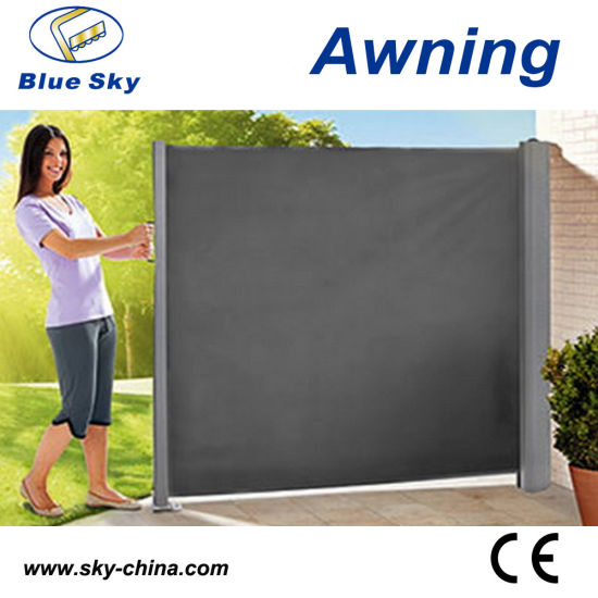 Metal Retractable Invisible Side Awnings B700