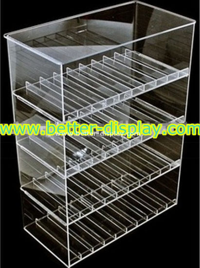Clear Acrylic E-Liquid Display Case