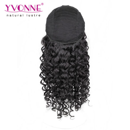 High Quality Peruvian Human Hair Lace Front Wig pictures & photos