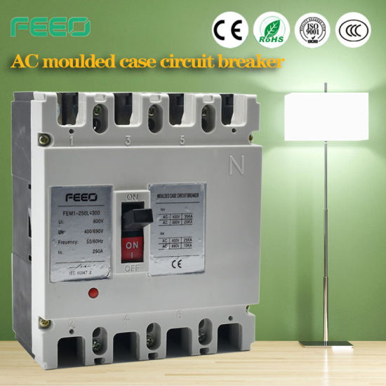 250A 3p Moulded Case Circuit Breaker MCCB pictures & photos
