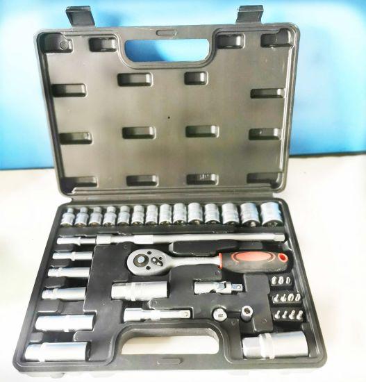 "40PCS 3/8""Dr (10mm) Professional Plug Socket Tool Set (FY1440B)"