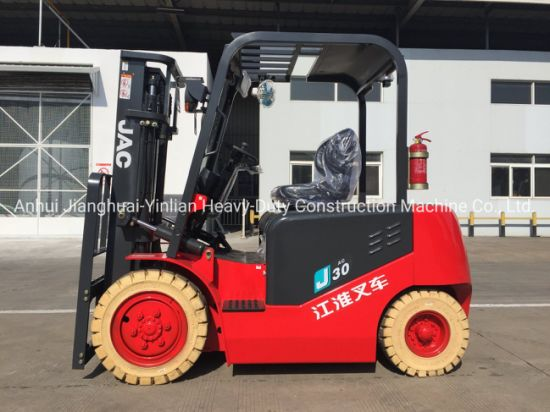 JAC Electric Forklift / Cpd30j/ Forklift Truck / Battery