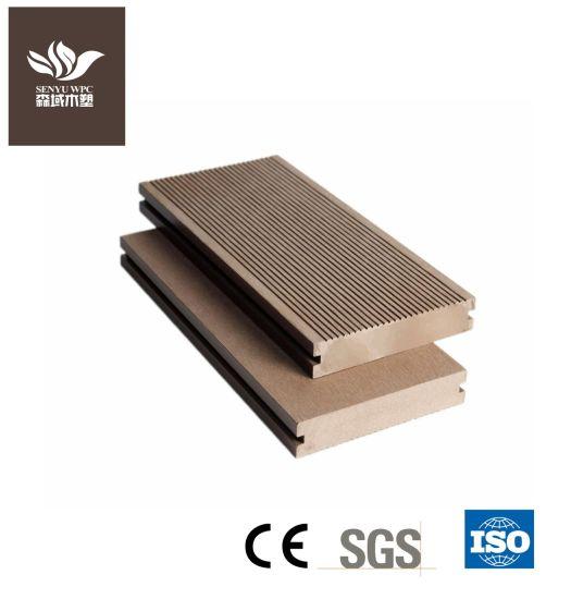 Waterproof WPC Decking Wood Plastic Composite Flooring