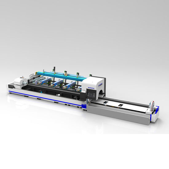 1000W~6000W Three-Chuck Automatic Loading and Unloading Metal Pipe Tube Laser Cutting Machine for Stainless Steel Carbon Steel Alu Brass Copper Cutting