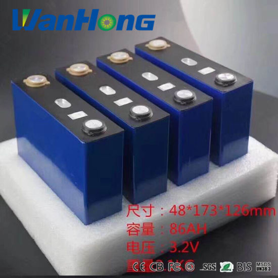Deep Cycle Battery/LiFePO4 Batteries/3.2V LiFePO4 Battery 200ah/100ah/120ah/86ah Battery/Solar Power Battery/Storage Battery/Rechargeable Battery