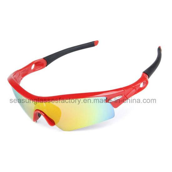 Photochromic Men Cycling Cheap Sports China Sunglasses Logo Print for Baseball Cycling Fishing Road Riding Glasses with Lens 5