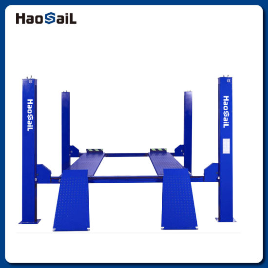 Four Post Wheel Electric Alignment Car Lift