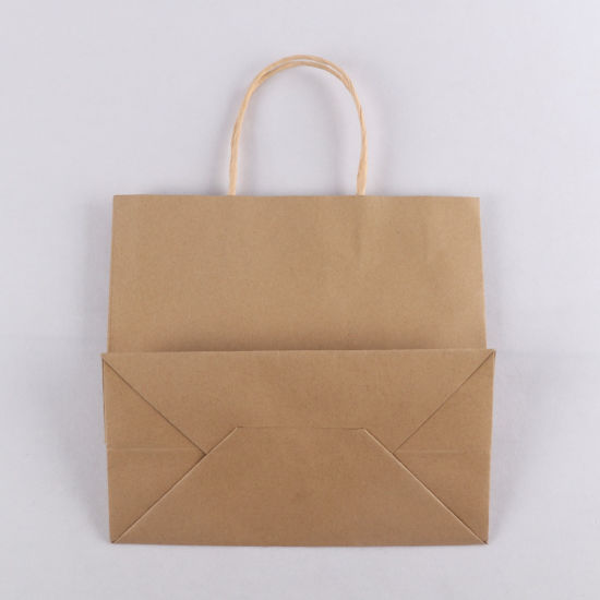 High Quality Kraft Paper Handle Take Away Gift Bag
