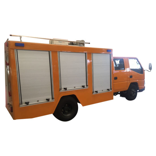 Fire Truck Rolling Door Aluminum Roller Shutter Security Door