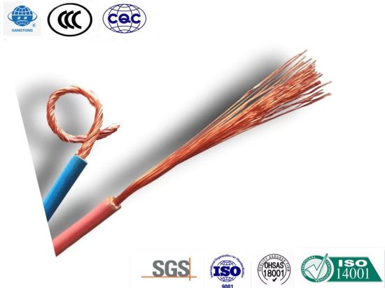 BVR Cu Core PVC Insulated Soft Cable