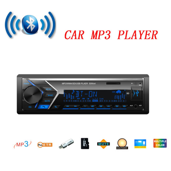 Car Accessories with Radio FM USB TF Aux Input 7 Color Change pictures & photos