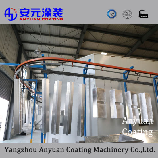 Machine Manufacturer Paint Complete Powder Coating Line in Mixing Equipment pictures & photos