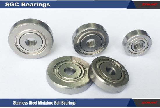 """Miniature Deep Groove Ball Bearings for Wooden Tools and Machines Accessories 0.25"""" Width"""
