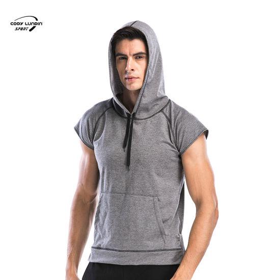 Cody Lundin Custom Quick Dry Function Logo Spandex Hoodies Sportswear