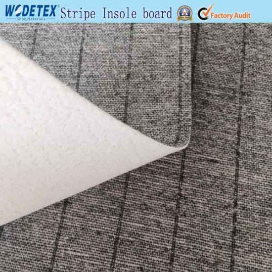 Stripe Insole Board Nonwoven Insole Board Strobel