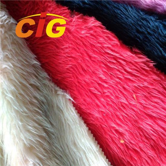 High Quality Long Pile Fake Fur Artificial Faux Fur Fabric