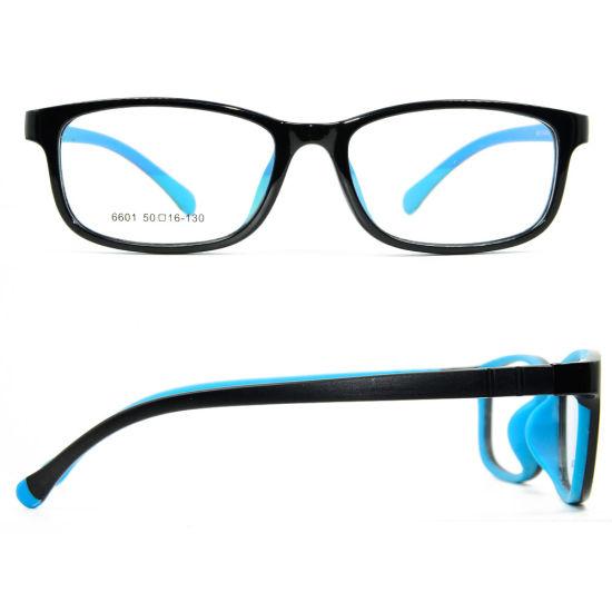 2019 Factory Custom High Quality Soft Light Weight Eyewear Kids Optical Glasses Frames for Teenagers