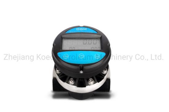 Ogm Digital Oval Gear Flow Meter