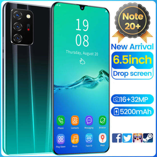 Smart Phone HYT- Note 20+ Cross-Border Phone Mobile Phone Cell Phone Manufacturers Direct Selling