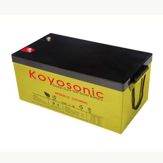 Power Bank for 12V 250ah Rechargeble Solar Battery Solar Panel Battery Gel Battery 250ah Battery Pack