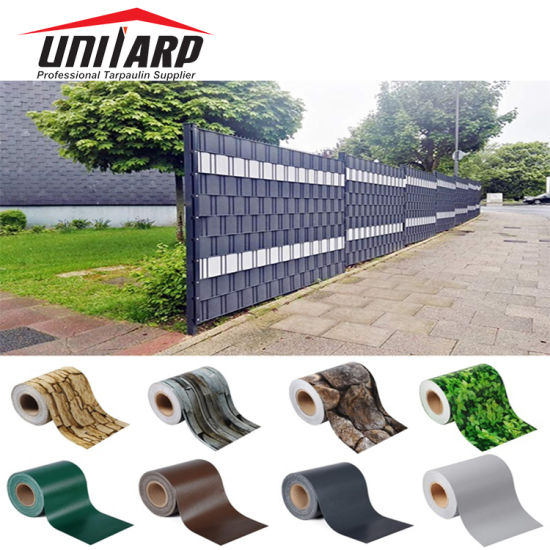China 65m 19cm Pvc Privacy Screen Strips Shield Fence Tapes For Garden Decoration China Pvc Privacy Strip And Pvc Privacy Shield Fence Price