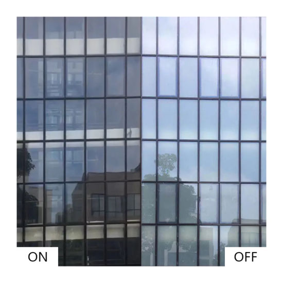 Pdlc Smart Film Privacy Electric Smart Switchable Self Adhesive Window Glass for Home, Office, Bathroom and Meeting Room