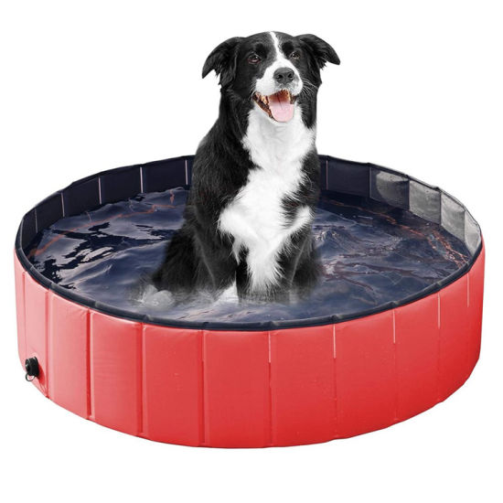 Durable Foldable Pet PVC Dog Swimming Pool for Kids Pets