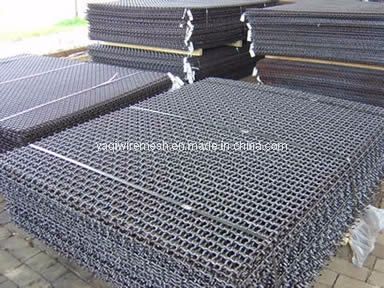 High Quality Manganese Steel High Carbon Seel Wire Mesh Vibrating Crimped Wire Mesh Screen for Stone Crusher Sieve
