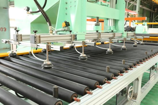 Stainless Steel Plate Sheet Surface Polishing Machine with The Abrasive Roller to Processing The Surface with The Scotch Brite-Satin Finish Sanding Pattern. pictures & photos