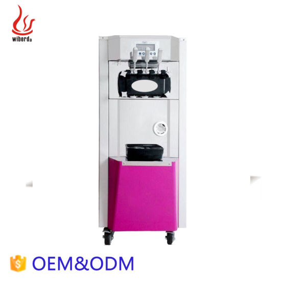 Advanced Technology Pre-Cooing 3 Flavor Soft Serve Used Ice Cream Making Machine