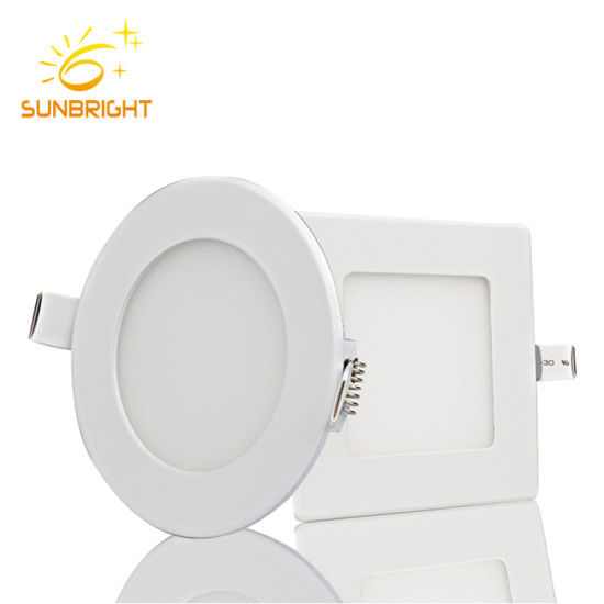 Dimmable Nature Warm Cool White 36W Surface Mounted Round Square LED Ceiling Panel Light