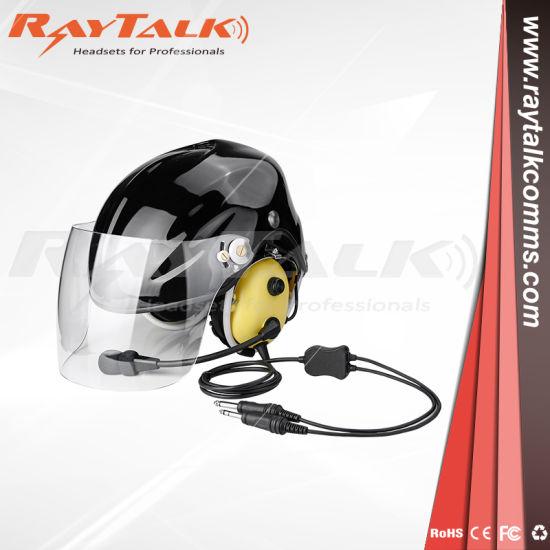 Pnr Aviation Helmet Headset for Paragliding/Paramotor/Skydive