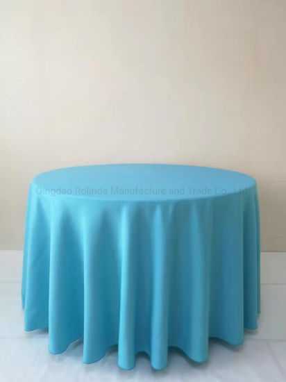 Polyester Color Party Home Hotel Banquet Wedding Satin Round Rectangle Square Table Cloth Tablecloth China Spandex Cover And Made In Com - What Size Is A Rectangular Party Table