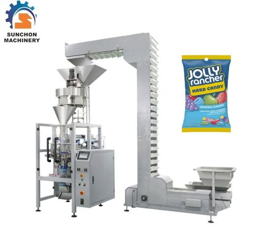 Automatic Chocolate Bean, Chocolate Ball Vertical Packaging Machine Cup Device