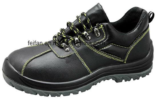 New Style Waterproof PU Leather Work Footwear/Safety Shoe