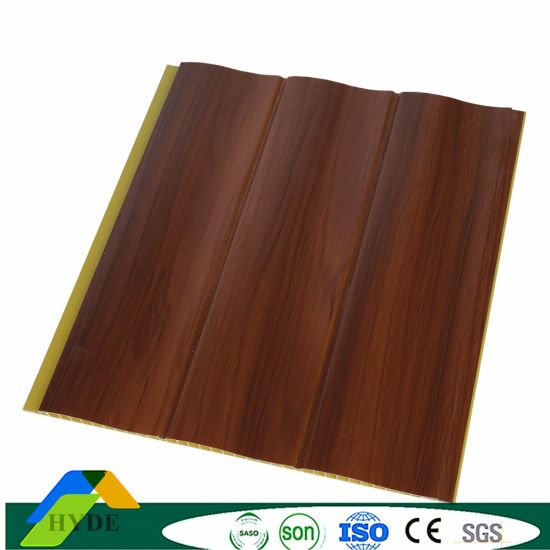 Direct From Factory Heavy Weight PVC Wall Panel Board Laminated Wall Panel for Rooms DC-446