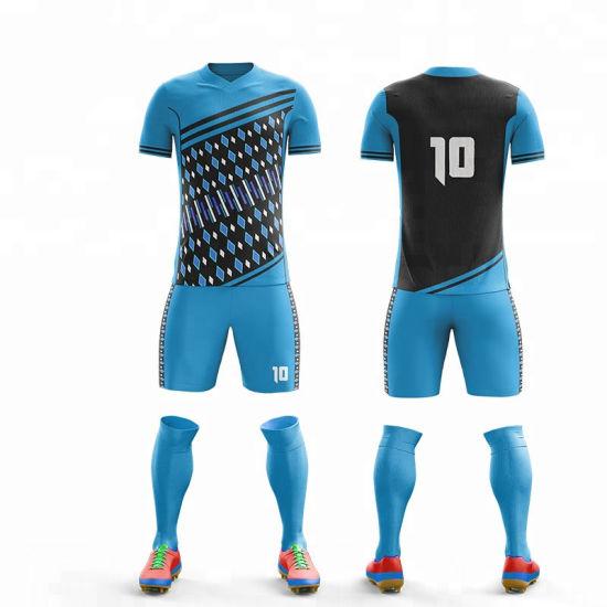16786c306 Latest Goods Design Sublimation Soccer High Quality Custom Design Soccer  Kit Jersey