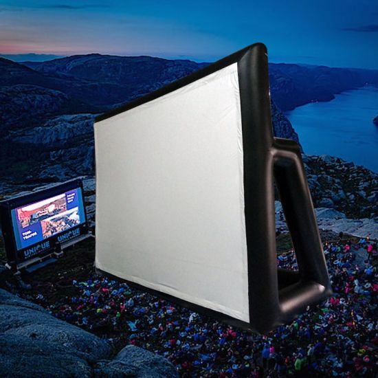 Inflatable Movie Screen Display Wall for Outdoor Movie pictures & photos
