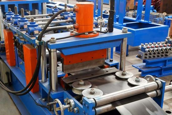 New Style 4mm Thickness C Purlin Roll Forming Machine with Chinese Price