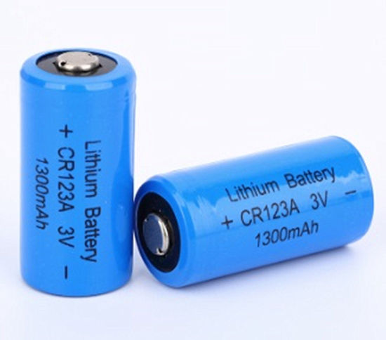 China Li Ion Battery Cr123a 1500mah 1300mah 3v A123 China Lithium