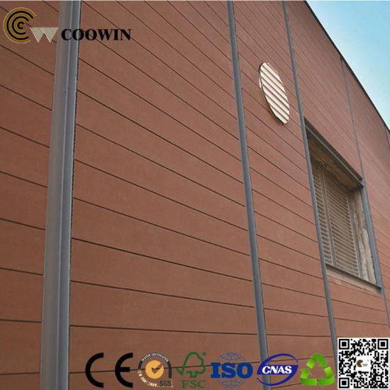 China Wood Plastic Composite Exterior Cladding - China Composite ...